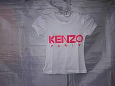 Летняя футболка детская с крупным рисунком, 92-116 см, фото 2