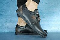 Мужские Ботинки ZanGak Black 10673