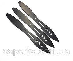 Набор метательных ножей 3шт. YF 038 (80 грамм), фото 2