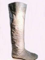 Женские сапоги весенне-осенние, фото 1