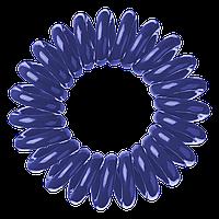 Набор резинок для волос invisbobble темно синий ( резинка браслет )