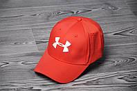 Кепка, бейсболка  топ качества , Under Armour, (красный), Реплика