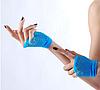 Перчатки ажурные короткие, фото 6