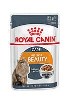 Royal Canin INTENSE BEAUTY (В СОУСЕ) ПАУЧ (Роял Канин влажный корм для поддержания красоты шерсти кошек)