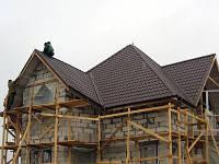 Как покрыть крышу металлочерепицей?