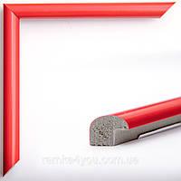 Фоторамка 21x30 14 мм красная