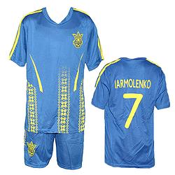 Форма для футбола команда Украины Размеры: от 7 до 14 лет
