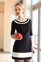 Элегантное мини-платьице в стиле шанель «elegance»  из французского трикотажа – роскошная простота