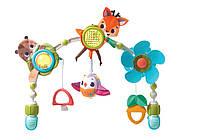 """Развивающая музыкальная дуга """"Лесные друзья"""" на коляску для детей с рождения ТМ Tiny Love 1404306830"""