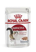 Royal Canin INSTINCTIVE (В ПАШТЕТЕ) ПАУЧ (Роял Канин влажный корм для кошек старше 1 года)