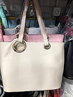 Женская сумочка на плечо  белая