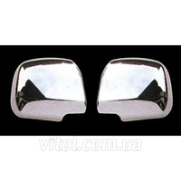 Накладка декоративная хромированная для украшения автомобиля DLAA (MRC-T44), для Toyota PREVIA , на зеркала, накладка на авто, хром-пакет