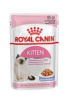 Royal Canin KITTEN INSTINCTIVE (В ЖЕЛЕ) ПАУЧ (Роял Канин влажный корм для котят с 4 до 12 месяцев)
