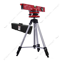 INTERTOOL MT-3007 Уровень лазерный с подставкой и штативом