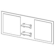 Панель з дзеркалами PANEL Z LUSTRAMI 150 Bonita Stolkar