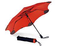 Складной зонт Blunt Противоштормовой зонт женский полуавтомат BLUNT (БЛАНТ) Bl-xs-red