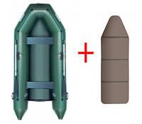 Моторная надувная лодка Шторм 300 с жёстким дном Storm stm-300 ck
