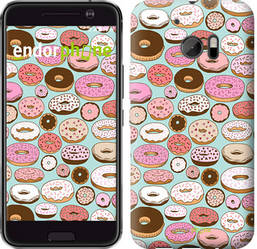 "Чехол на HTC 10 Пончики в глазури ""2876c-464-8094"""