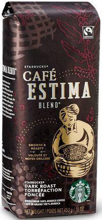 Кофе Starbucks Dark Estima Blend в зернах 453 г