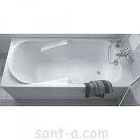 Ванна прямоугольная Kolo Diuna 120x70 XWP3120 белая, с ножками, фото 1