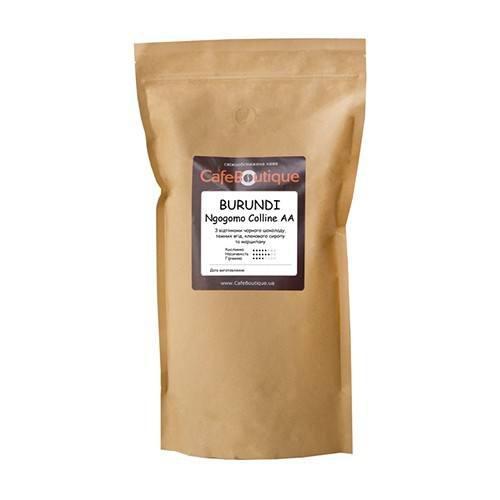 Кофе CafeBoutique Burundi Ngogomo Colline AA в зернах 1000 г