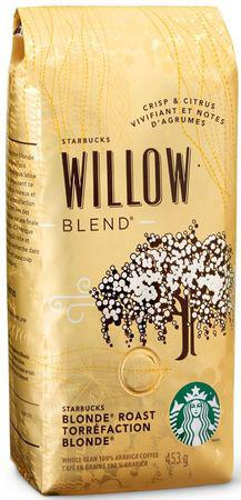 Кофе Starbucks Willow Blend в зернах 453 г