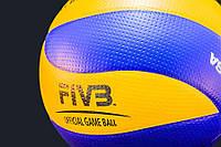 Мяч волейбольный MIKASA MVA 200 с печатью FIVB Original Бесплатная доставка!!