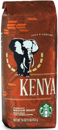 Кофе Starbucks Kenya в зернах 453 г