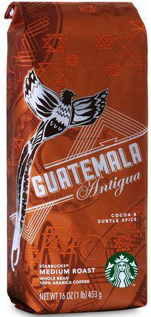 Кофе Starbucks Guatemala Antigua в зернах 453 г