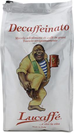 Кофе Lucaffe Decaffeinated в зернах 1000 г