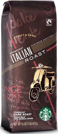 Кофе Starbucks Dark Italian Roast в зернах 453 г