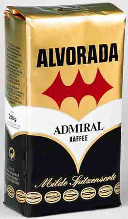 Кофе Alvorada Admiral Kaffee молотый 250 г