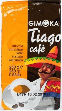Кофе Gimoka Tiago cafe молотый 250 г
