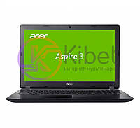 Ноутбук 15' Acer Aspire 3 A315-31 (NX.GNTEU.015) Black 15.6' матовий LED HD (1366х768), Intel Pentium N4200 1.1GHz, RAM 4Gb, SSD 128Gb, Intel HD