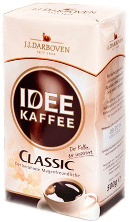 Кофе J.J.Darboven Idee Kaffee Classic молотый 500 г