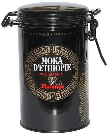 Кофе Malongo Moka Ethiopie молотый ж/б 250 г