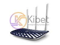 Роутер TP-LINK Archer C20_V4/AC750, Wi-Fi 802.11a/b/g/n/ac, до 733 Mb/s, 2.4/5GHz, 4 LAN 10/100 Mb/s, RJ45 10/100Mb/s (FE), IPTV, FTP server / Print