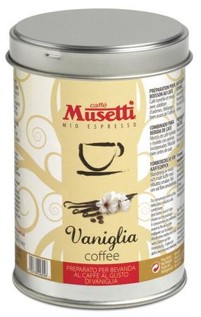 Кофе Musetti Caffe Vanilla молотый ж/б 125 г
