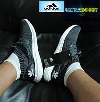 Кроссовки летние Adidas Ultra Boost. Беговые кроссовки мужские, реплика , фото 1