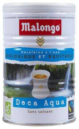 Кофе Malongo Deca Aqua молотый ж/б 250 г