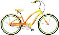 """Велосипед 26"""" ELECTRA Daisy 3i Ladie Al yellow fade"""