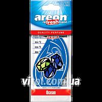 """Освежитель воздуха AREON MKS 04 сухой листик """"Mon Classic"""" Ocean (Океан), освежитель воздуха для автомобиля, освежитель для машины"""