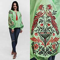 Современная женская вышиванка, 100% хлопок, разные цвета, 540/490 (цена за 1 шт. + 50 гр.)
