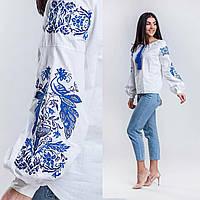 Вышиванка в современном стиле для женщин, 100% хлопок, разные цвета, 540/490 (цена за 1 шт. + 50 гр.)