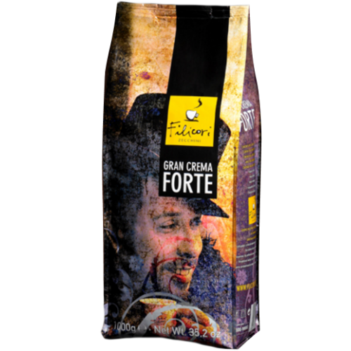 Кофе Filicori Zeсchini Gran CREMA FORTE в зернах 1000 г
