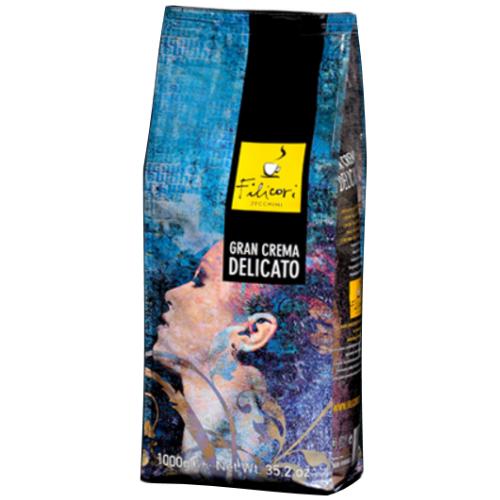 Кофе Filicori Zeсchini Gran CREMA DELICATO в зернах 1000 г