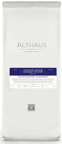 Черный чай Голден Ассам Санкар Althaus 250 г