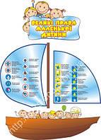 Стенд Великі права маленької дитини (0619)