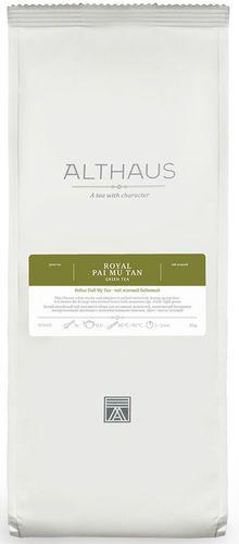 Белый чай Ройал Пай Му Тан Althaus 65 г
