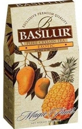 Черный чай Basilur Манго и ананас картон 100 г